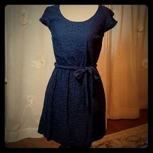 Merona Lace Navy Dress